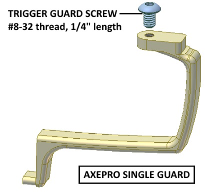 Axe Pro Single Guard diagram