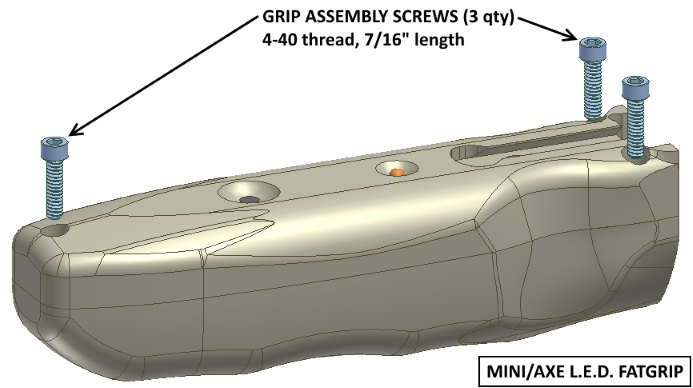 Fatgrip foregrip diagram